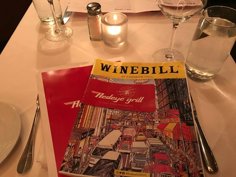 the Redeye Grill –NYC